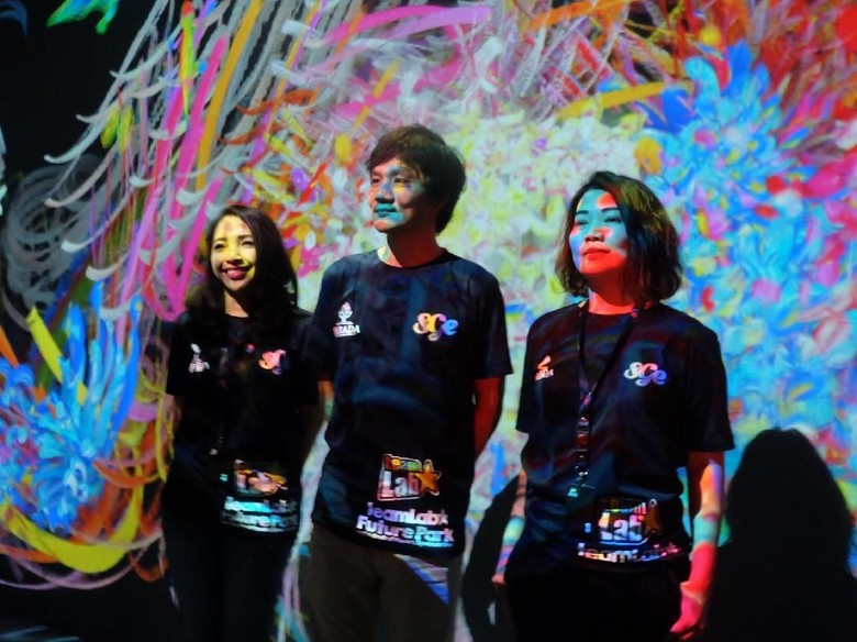 Mengenal teamLab yang Populerkan Seni Digital Interaktif ke Dunia Foto: teamLab Future Park (Agnes/detikHOT)