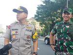 Barikade Jalan di Sekitar MK Dibuka Polisi, Lalu Lintas Normal Kembali