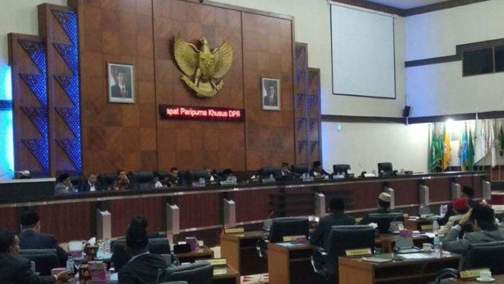 DPR Aceh Bentuk Tim Kajian dan Advokasi Isi Perjanjian Damai RI-GAM