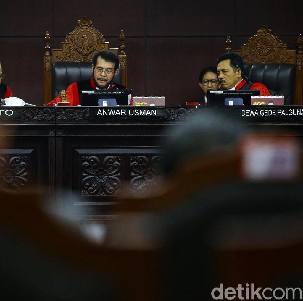 Di MK, Saksi Tim Prabowo Agus Maksum Tolak Buka Identitas Pengancam