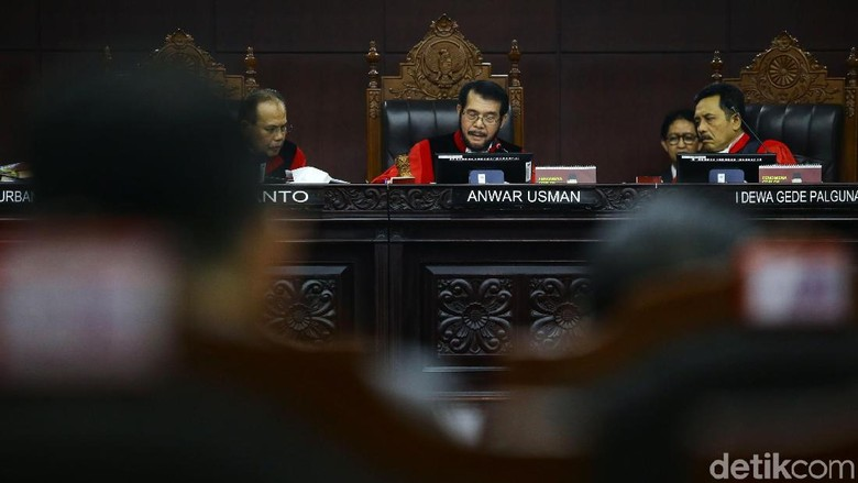 Ketua MK: Putusan Tak Mungkin Puaskan Semua, Jangan Saling Hujat