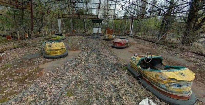 Sejarah mencatat 26 April 1986 sebagai salah satu hari paling kelam di dunia. Tepat pada tanggal itu, pembangkit listrik tenaga nuklir Chernobyl bocor dan menelan ratusan korban jiwa (Google Map)