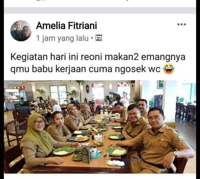 Viral ASN Tangerang Makan-makan dan Hina Babu, Pemkot Turun Tangan