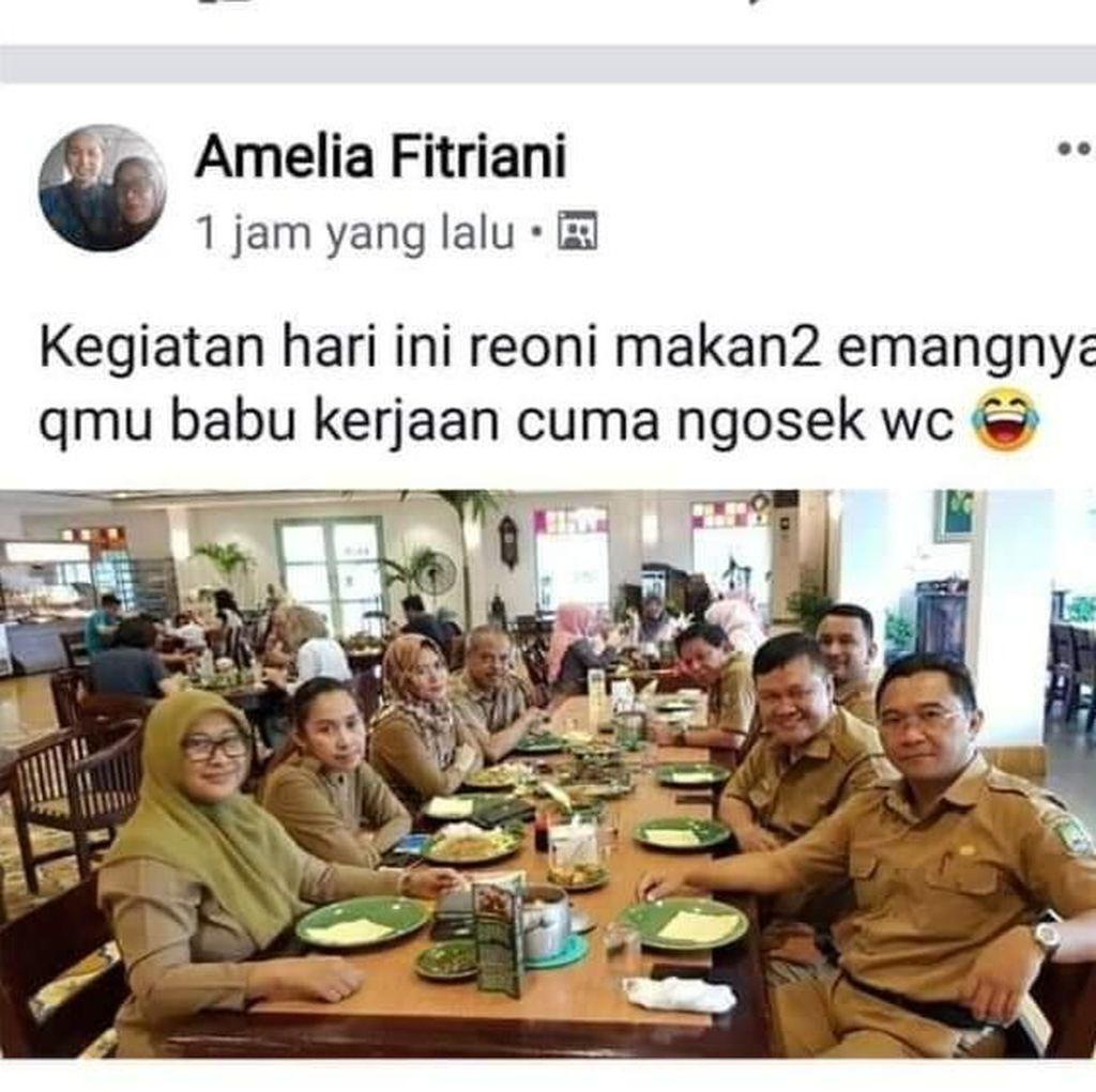 Pengakuan ASN Pemkot Tangerang yang Hina Babu di Medsos