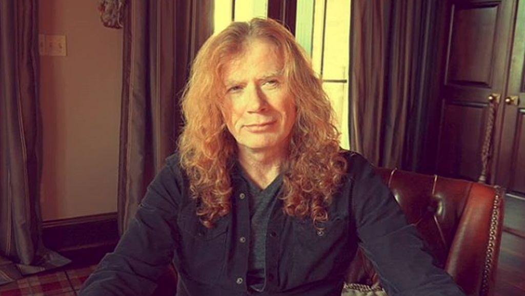 Dave Mustaine Megadeth Idap Kanker Tenggorokan