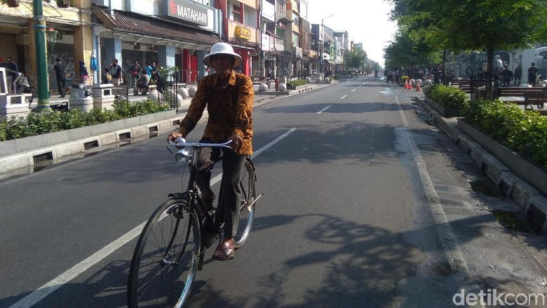 Pesepeda Gembira Malioboro untuk Non-Motor, Para Pedagang Was-was