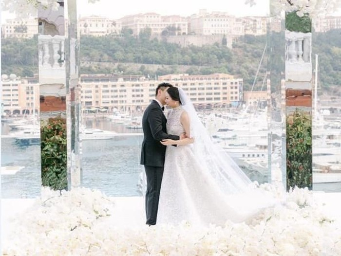 Pernikahan Amanda Winarko dan Kelvin Sebastian. (Foto: Instagram)
