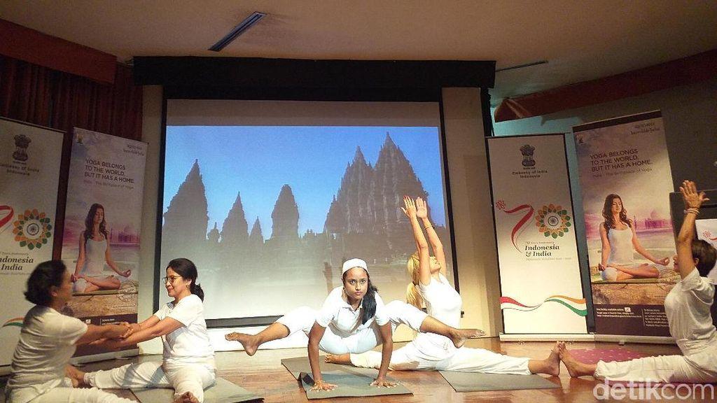 Yoga Soal Olahraga, Tak Berkaitan dengan Agama