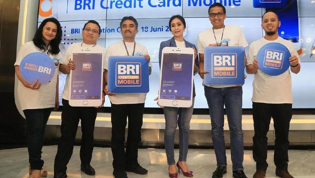 Gaet Milenial, BRI Luncurkan Aplikasi Kartu Kredit di Ponsel