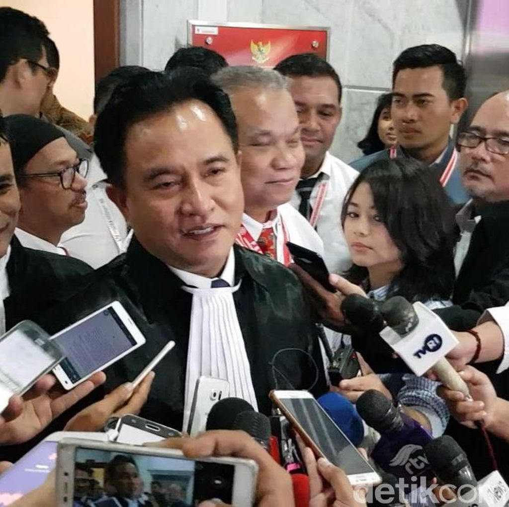 Tim Prabowo Rencana Ganti Saksi, Yusril Ingatkan Hukum Kafarat