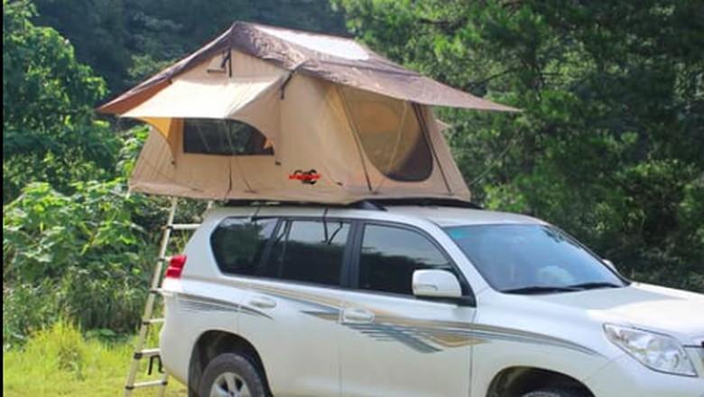 Tenda di atas mobil Foto: dok. PT Maxindo