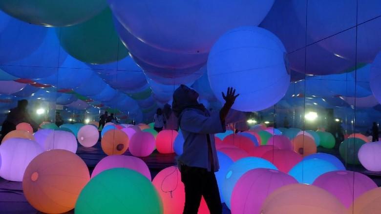 Foto: teamLab Future Park (Agnes/detikHOT)