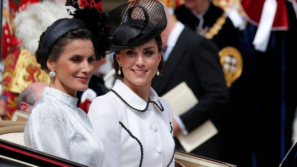 Penampilan Kate Middleton & Putri-putri Cantik Eropa Saat Berkumpul Bersama