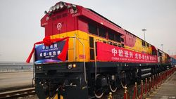 Jalur Sutra Baru China ke Eropa Berakhir di Duisburg Jerman