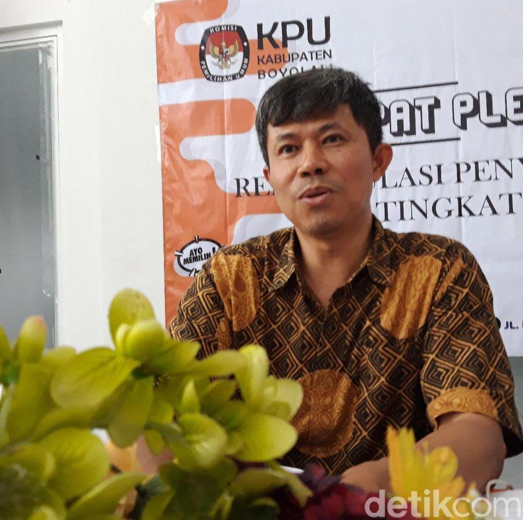 KPU Boyolali Siapkan Bukti-bukti Hadapi Gugatan Pilpres di MK