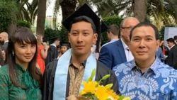 Wisuda Putra Pertama, Tommy Soeharto dan Tata Regita Bahagia