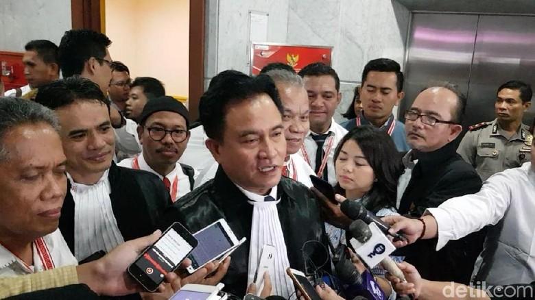 Saksi Sebut Ada 17 Juta DPT Fiktif, Yusril: Itu Pilih Prabowo atau Jokowi?