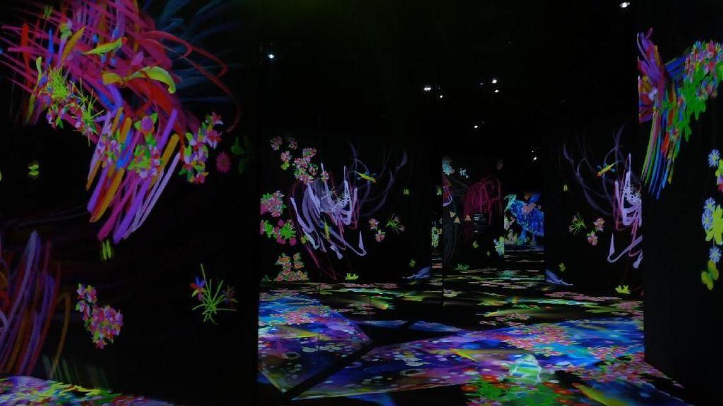 Gabungkan Seni dan Teknologi, teamLab Future Park Jakarta Lebih Istimewa