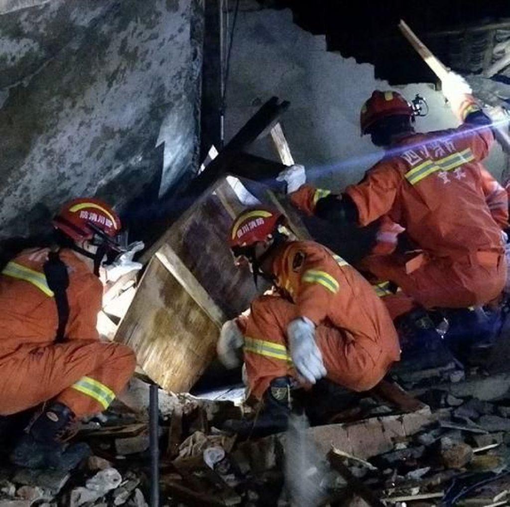 Korban Gempa M 6 di China Bertambah: 13 Orang Tewas, 199 Terluka