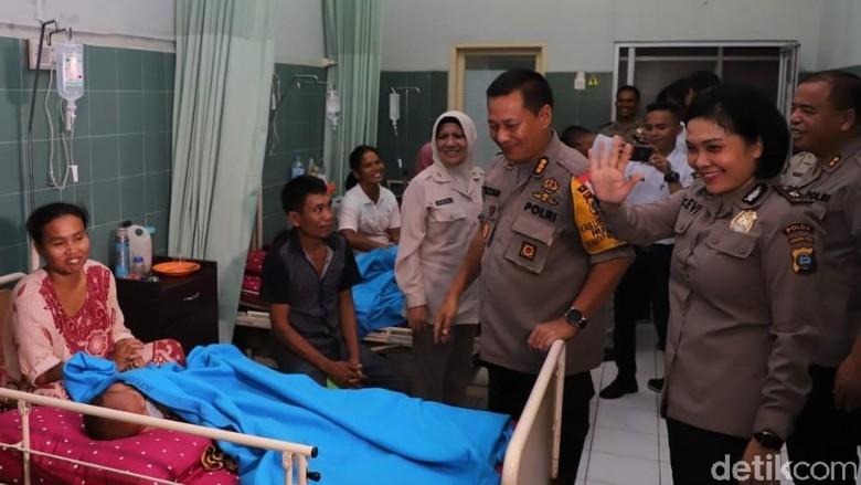 Puluhan Warga Ikut Operasi Bibir Sumbing Gratis di RS Bhayangkara Medan