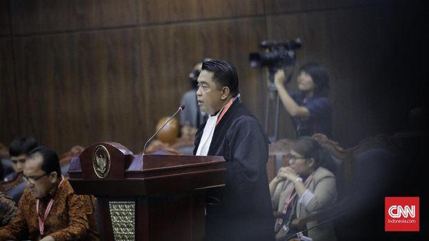 (CANGKANG) MK Tolak Argumen Tim Prabowo Soal Posisi Ma'ruf