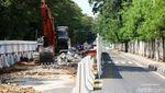 Jalan Setiabudi Tengah Ditutup untuk Pembangunan LRT