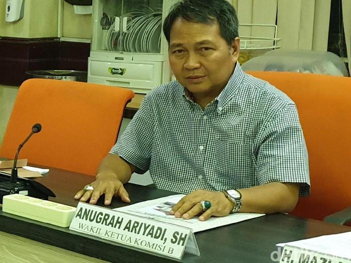 Ketua Pansus Raperda PBB Anugerah Ariyadi/Foto: Istimewa