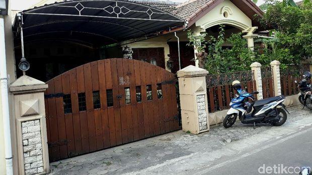 Rumah Wahyu Nugroho di Solo.