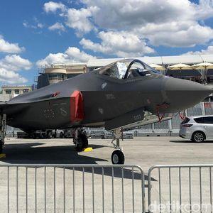 Deretan Mesin Perang AS yang Mejeng di Paris Air Show 2019
