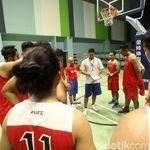 Tiba di Taiwan untuk William Jones Cup, Timnas Basket Berlatih Ringan