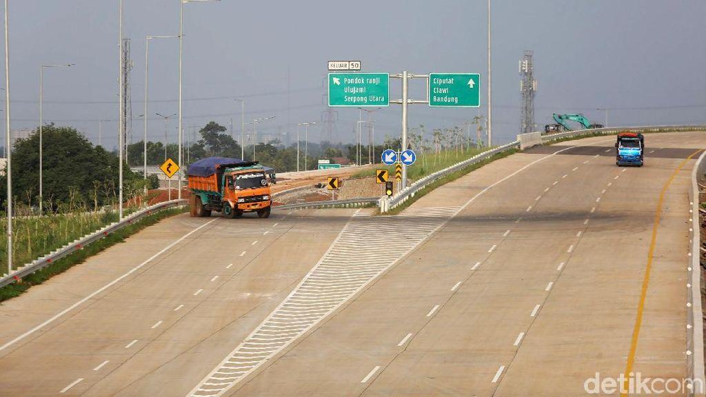 Jokowi Pastikan Jakarta Dikelilingi Tol Baru 110 Km Akhir 2020