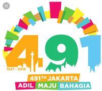 Logo HUT DKI Jakarta 491