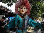 Eksistensi Ondel-ondel Jelang HUT DKI Jakarta