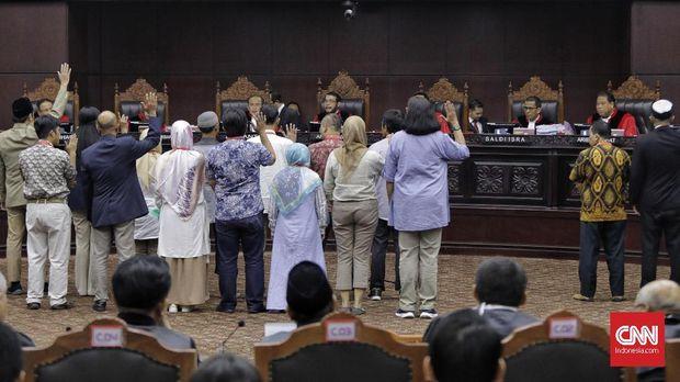 (CANGKANG) PHPU Pilpres, MK Tolak Permohonan Pilpres Prabowo