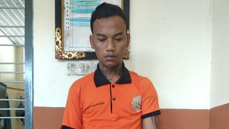Tahanan Curanmor di Bali Bikin Geger karena Makan Kotoran Sendiri