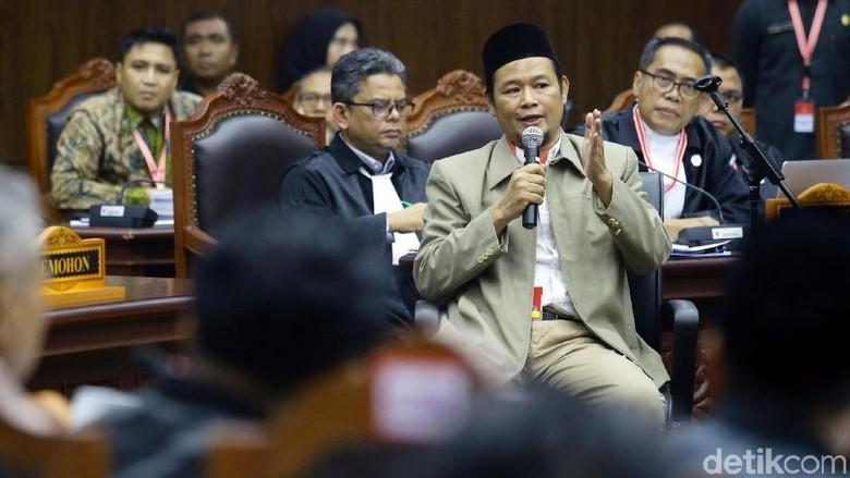 Agus Maksum Bersaksi di Sidang Lanjutan Sengketa Pilpres 2019