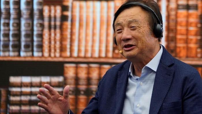 Bos Huawei Ren Zhengfei menyebut sanksi lebih melukai perusahaan AS. (Foto: Reuters)