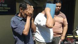 Oknum Karyawan PT KAI Daop 9 Ditangkap Curi Besi Bantalan Rel Kereta Api