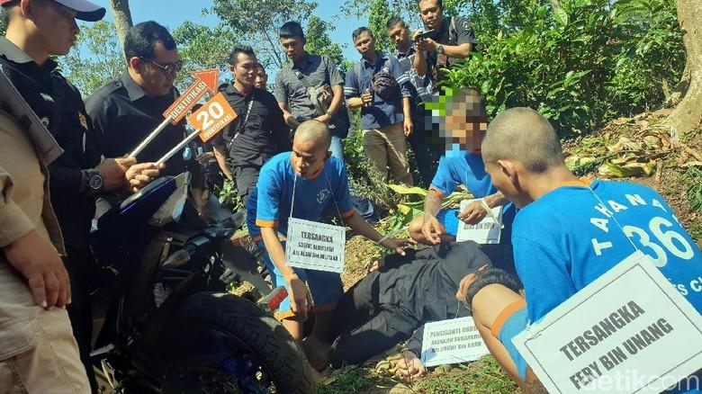 3 Sekawan Habisi Nyawa Pria Bertato Bandel Gegara Knalpot Bising