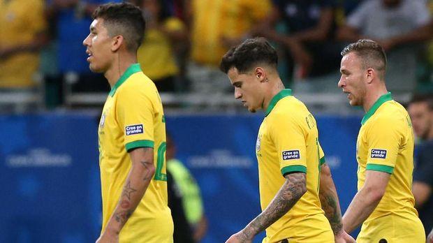 Timnas Brasil ditahan imbang Venezuela pada laga kedua Grup A Copa America 2019.