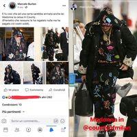 Pakai Baju Motif Coretan, Madonna Disebut 'Toilet Manusia' oleh Desainernya