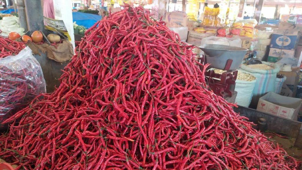 Harga Cabai di Aceh Naik dari Rp 20.000/Kg Jadi Rp 60.000/Kg
