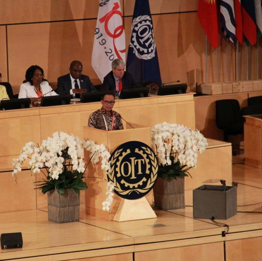 Di Forum Perburuhan Internasional, Menaker Bicara Pendidikan Vokasi