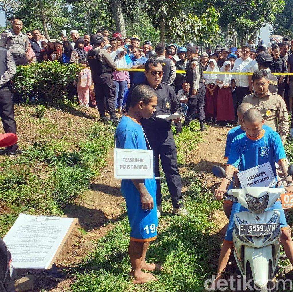 Pembunuhan Sadis Pria Bertato Bandel Dipicu Knalpot Bising