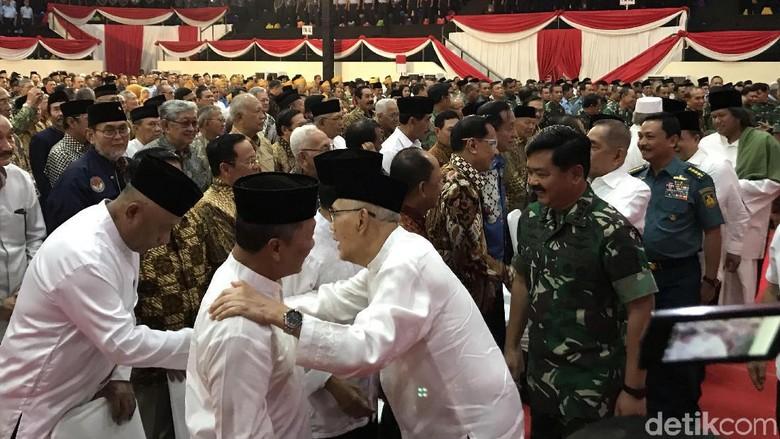 Panglima TNI Gelar Halalbihalal, Menhan hingga Gatot Nurmantyo Hadir