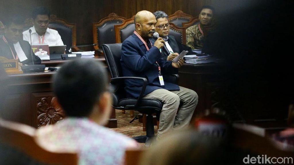 Saksi Prabowo Bicara Soal NIK Rakayasa