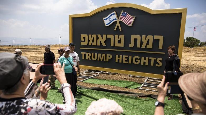 Israel Resmikan Dataran Tinggi Trump di Golan yang Direbut dari Suriah