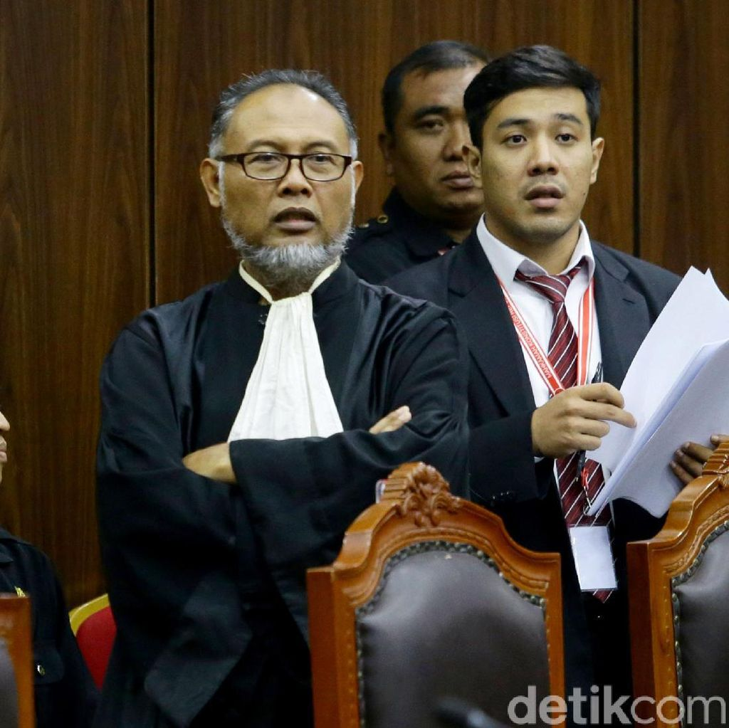 BW Tuding Anggota Majelis MK Menekan Saksinya