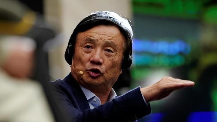 Ren Zhengfei. Foto: Reuters