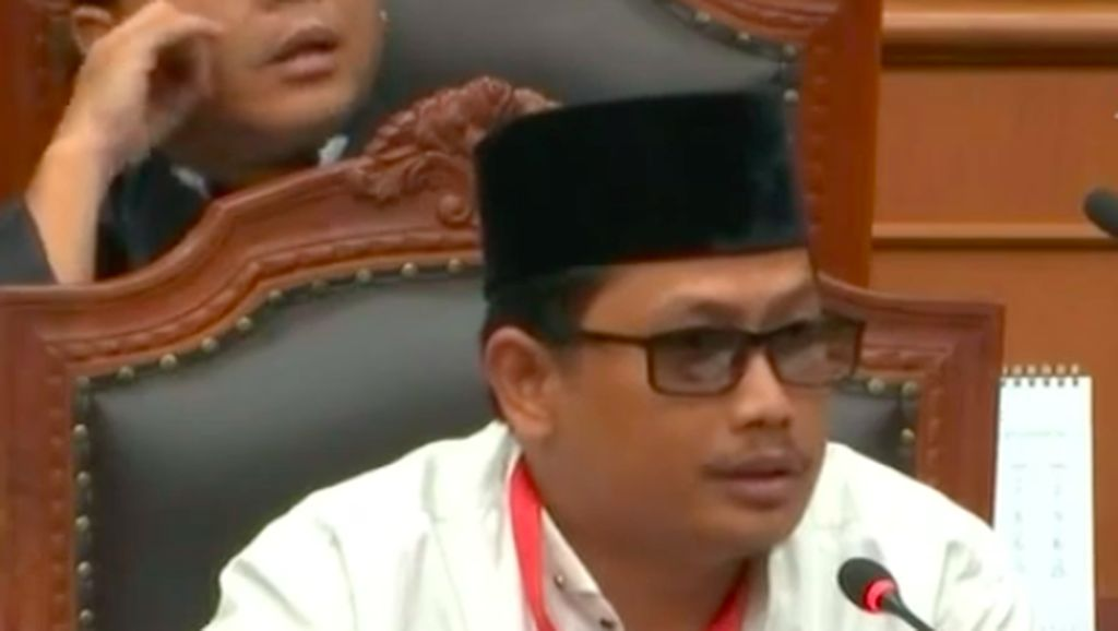 Geger Saksi Prabowo di MK Ternyata Tahanan Kota